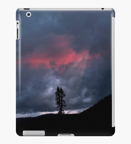 Sunset Over Childs Meadow. iPad Case/Skin
