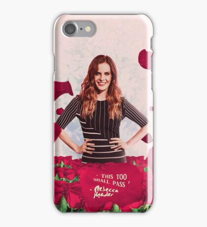 Rebecca Mader;  iPhone Case/Skin