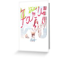 Girls' Generation (SNSD) Sunny 'Party' Greeting Card