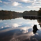 Clouds On Lake Tobesofkee by Jim Haley