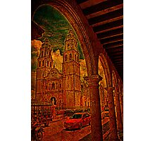 The Cathedral. Campeche. Mexico Photographic Print