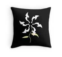 Goddess Flower Throw Pillow