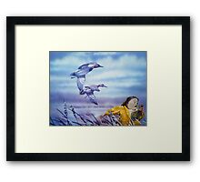 Marsh Madness Framed Print