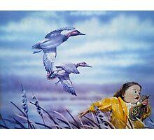 Marsh Madness Photographic Print