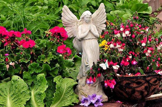 MY GARDEN ANGEL by RoseMarie747