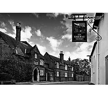 The Railway Tavern, Holt Photographic Print