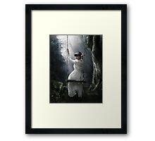 El columpio Framed Print