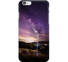 Milky Way Stargazing with Friends iPhone Case/Skin