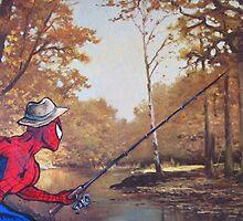Gone Fishin' by David Irvine