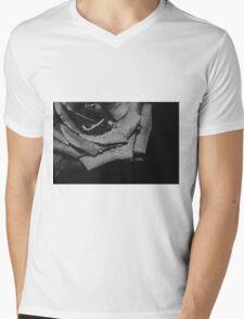 My Heart Is Refusing Me (mono) Mens V-Neck T-Shirt