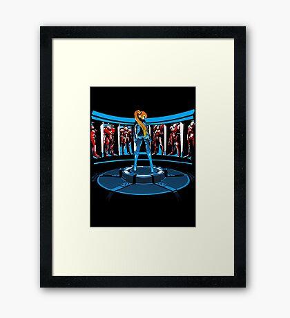 Iron Aran Framed Print