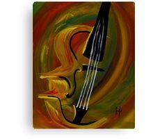 Simplistic Symphony 1 Canvas Print