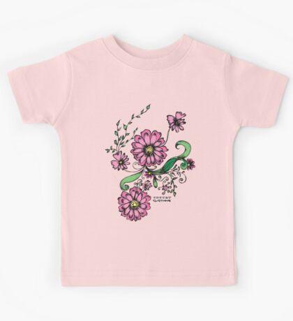 Floral design Kids Tee