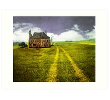 Old Stone House Art Print