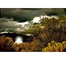 shining beacon Photographic Print