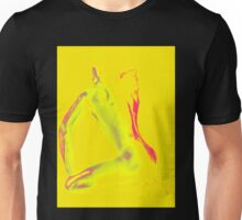 Posed In Yellow Unisex T-Shirt