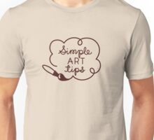 Simple Art Tips Logo Unisex T-Shirt
