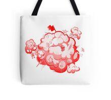 Fight comic book style Tote Bag