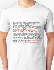 Summer Of Answers Unanswered Questions T-Shirt