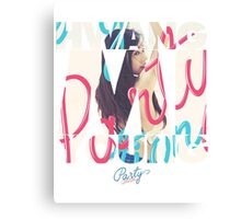 Girls' Generation (SNSD) Tiffany 'Party' Canvas Print