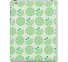 Cheerful Citrus in Zesty Lime iPad Case/Skin