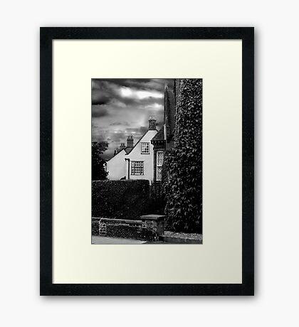 Holt Houses Framed Print