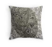 Bill Murray's Print on the Movie Industry Throw Pillow