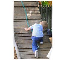Little climber Poster