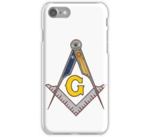 Masonic Square and Compass iPhone Case/Skin
