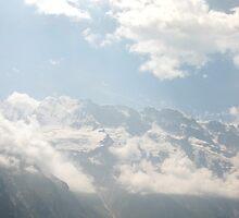 The Parasailer - Switzerland - Collage by Danielle Ducrest
