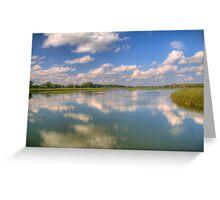Yahara River Reflections Greeting Card
