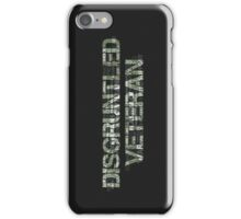 Disgruntled Veteran iPhone Case/Skin