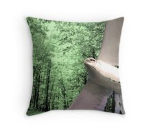 Fly Back Home Throw Pillow
