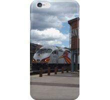 New Mexico Railrunner Departs Santa Fe Railyard, Santa Fe, New Mexico iPhone Case/Skin