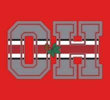 O - H Ohio State Buckeyes Chant O - H...I - O! Shirts, Stickers, More by Kenneth Krolikowski