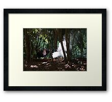 Lydia Goes Camping Framed Print