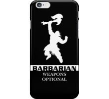 Barbarian Inverted iPhone Case/Skin