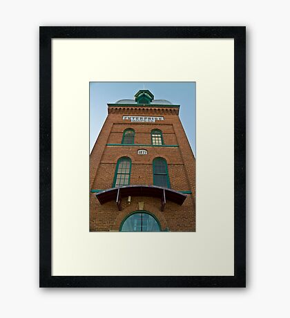 Enterprise Manufacturing Company Tower Framed Print