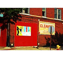 Drive by Cleaners Photographic Print