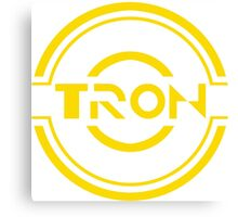 Tron Disc Canvas Print