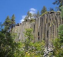Devils Postpile Revisited by marilyn diaz