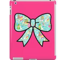 Lilly Pulitzer Inspired Bow - You Gotta Regatta iPad Case/Skin