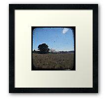 Deeargee Woolshed - TTV Framed Print