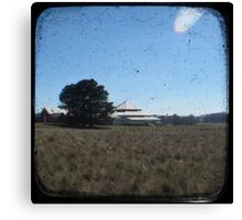Deeargee Woolshed - TTV Canvas Print