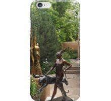 Sculpture Garden, Canyon Road, Santa Fe, New Mexico iPhone Case/Skin