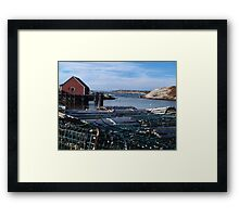 Peggy's Cove Inlet Framed Print