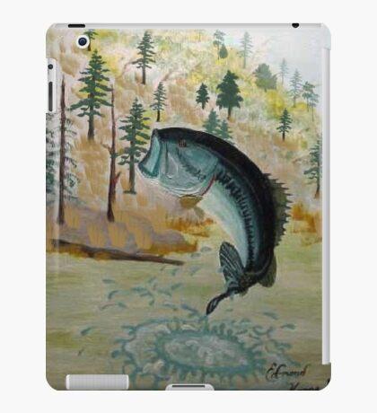 Largemouth Bass Painting iPad Case/Skin
