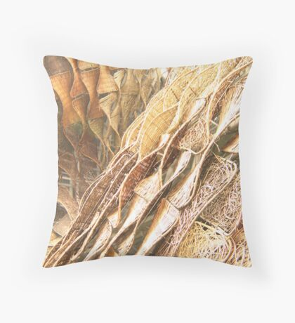 Tough Texture Throw Pillow