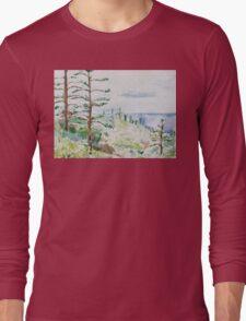 Norfolk Pines, Bucks Point Long Sleeve T-Shirt