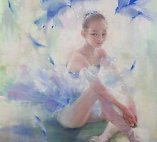 Blue bird by vasenoir